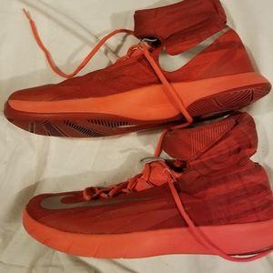 Nike basketball solar Red hyper rev Mens 11.5 shoe
